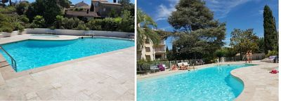 Photo for Beautiful studio 200 meters from the sea - residence with swimming pool