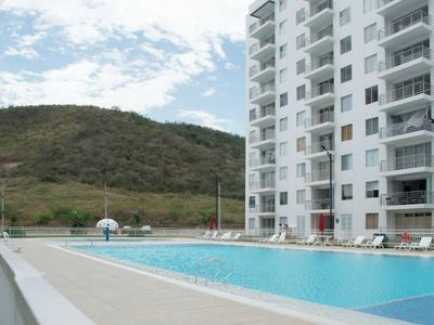 Photo for Comfortable 2 bedroom apartment with balcony and 3 pools
