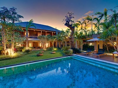 Photo for Group 10 BR villa by the beach Seminyak