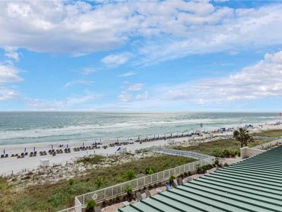 Photo for Twin Palms 405, 2 Bedrooms, Beach Front, Picnic Area, Sleeps 6