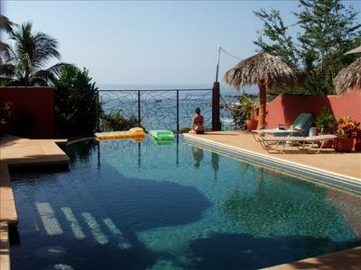 Photo for Casa De Tortugas Chacala Beachfront Home with Awesome Views