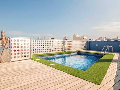 Photo for Studio with Pool and Unique Views - Historical Center Málaga
