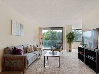Photo for Gorgeous Suite Just Outside DC + Gym + Pool