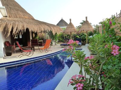 Photo for Magnificent villa in private residence, entirely renovated, private swimming pool, wedged