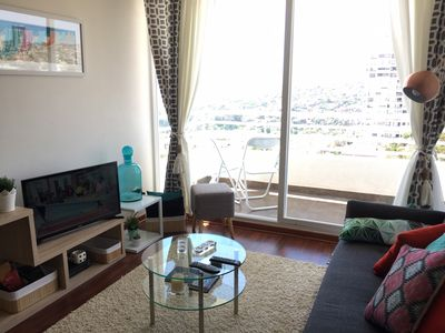 Photo for Cozy full equipped, balcony, view! WiFi,