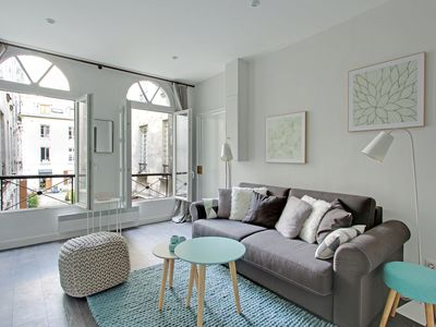 Photo for A Cosy Apartment in the Trendy Higher Marais