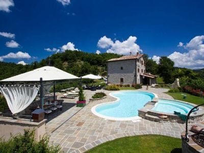 Photo for Holiday apartment Apecchio for 5 - 7 persons with 2 bedrooms - Holiday apartment in one or multi-fam
