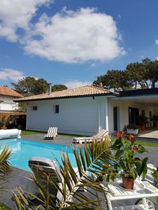 Photo for VERY NICE NEW VILLA ***** T 5 WITH HEATED SWIMMING POOL .10 PEOPLE.