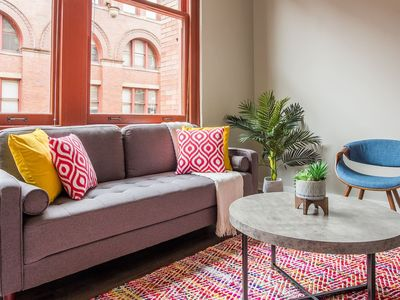 Photo for Dynamic 2br Loft w/ Parking on Allegheny River