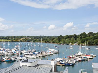 Photo for A brand new luxury 5 Star apartment with spectacular views over Falmouth Marina