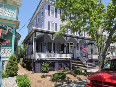 Photo for One Block to Beach and Town. Walk Everywhere. 3 Bedrooms, 2 Baths, Sleeps 8
