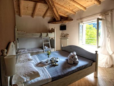 Photo for Cozy premises in a renovated farmhouse / shared pool