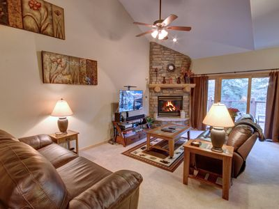 Photo for Northstar 1959 is spacious 2 bedroom townhome located West Keystone, quiet and peaceful area.