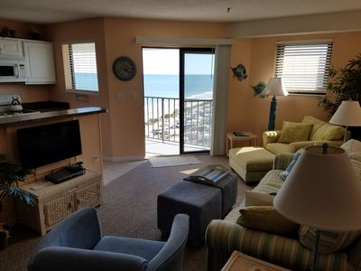 Photo for Unit 1110 Like New 2 BR in Beachfront Building!  Act fast, only few Summer weeks