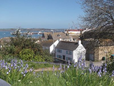 Photo for 18th Century Cosy Cornish cottage in the heart of Falmouth. Quiet oasis in town.