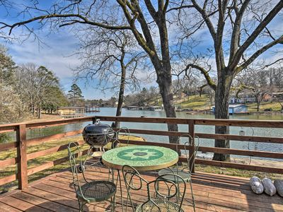 Photo for NEW! Lakefront Hot Springs House w/ Deck & Dock!