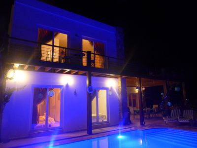 Photo for Superbly Equipped, Villa with Bar, Own Pool & Sea Views, Wifi.