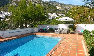 Photo for Beautiful Villa with private pool next to Mijas with panoramic mountain views