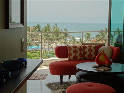 The moment you open the door to our condo you see sweeping ocean views!