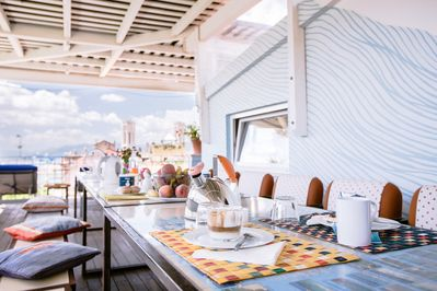 Bed Breakfast La Terrazza Sul Porto Penthouse Right In The