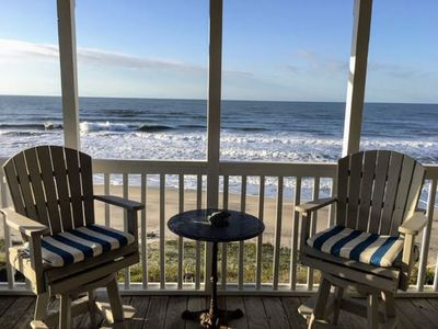 Photo for Oceanfront Retreat with Beacon's Reach Amenities! Surf, Sand, Pools, Tennis