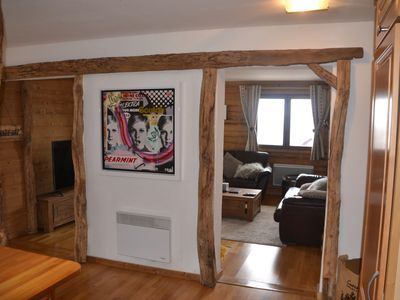Photo for 5 Gold Snowflakes Spacious 3 bedroom Apartment St Martin de Belleville -sleeps 8