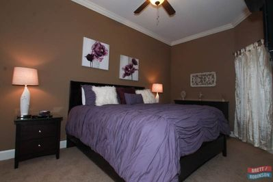 2nd Master bedroom with pillow top mattress