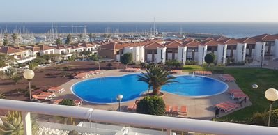 Photo for Luxury  1or 2 Bed Apartment  Stunning Views of Marina/Sea