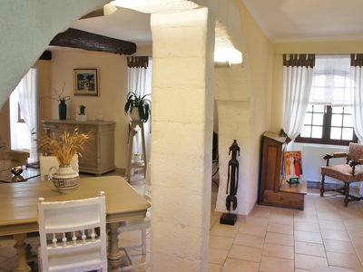 Photo for Charming apartment 80m square in the center of L'Isle sur la Sorgue