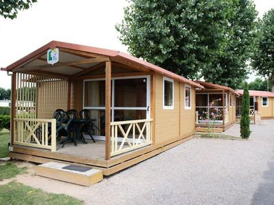 Photo for Camping Vitamin '**** - Chalet Moréa 3 Rooms 5 People