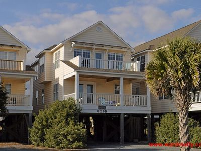 Photo for 4 BR Townhouse with Ocean Views from Top Sun Deck. Pet Friendly - Once Upon A Tide