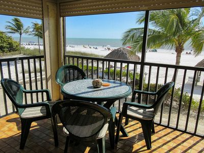 Photo for Estero Sands 103, Beachfront 2B/2B With Gulf View, Elevator, Heated Pool, Walk to Everything!