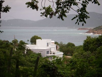 Photo for Contemporary Waterfront Luxury Villa (Views, Pool, AC, Gym, Generator)