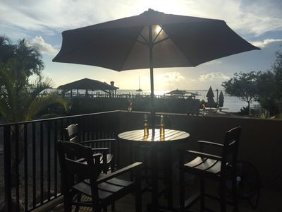 Photo for Beautiful Bay Front Two-Floor Condo with boat slip in Moonbay - Key Largo