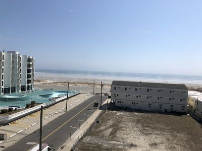Photo for Ocean Front (almost) , King Beds, Beach Chairs/Umbellas