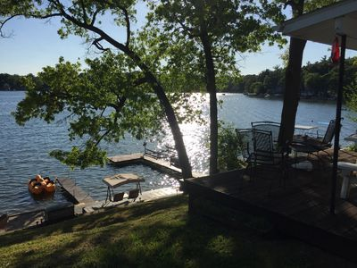 Cozy Lake Cottage in Rockford
