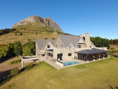 Photo for Magnificent home with panoramic views high up on the Helderberg mountain