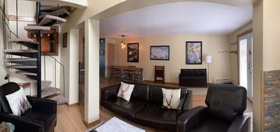 Photo for Breckenridge mountain townhome-50 steps to free shuttle!