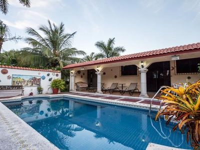 Photo for Private Walk-to-All Home, Pool, 4 Blocks to Ocean