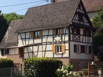 Photo for Charming Alsatian half-timbered house, north Alsace near regional park