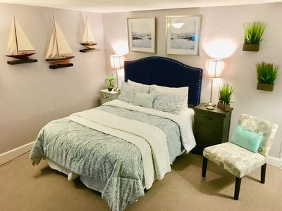 Completely remodeled with all new decor, including the new bed!