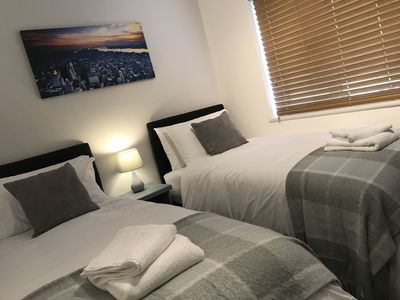 Photo for Roomotel - Hamlyn Green - Ground Floor 1 Bed Apartment in Solihull near the NEC