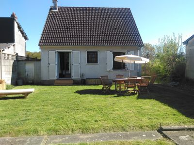 Photo for Bright house 800 m from the beach Deauville WI Fi