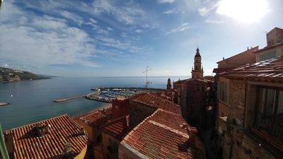 Photo for BEAUTIFUL HEART OF OLD CITY MAGNIFICENT VIEW OF THE PORT AND THE SEA