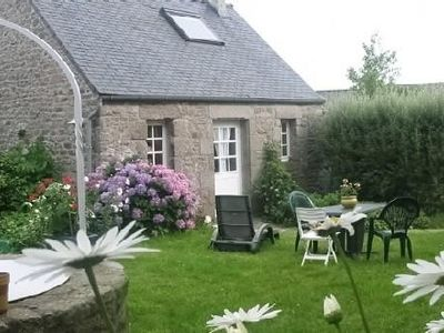 Photo for Authentic Breton house, two Persons + Baby, between Iroise Sea and the fields.