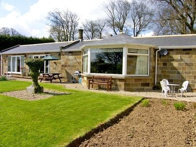 Photo for WEST WING, pet friendly, with a garden in Aislaby, Ref 2414