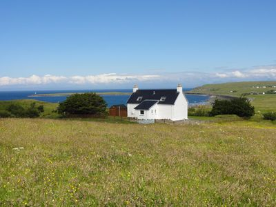 Photo for Driftwood Cottage Skye, 2 bedroom , Spectacular Seaview, close to Quiraing