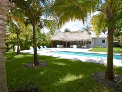 Photo for NoBeVIP: The Relax House: 2 Bedrooms with pool and tiki hut!