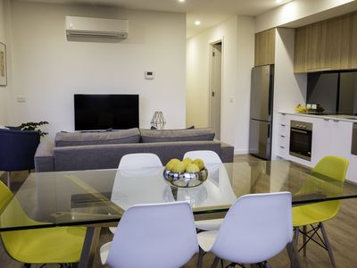 Photo for 2 B/R Penthouse in the heart of the action. Look no further! Top location
