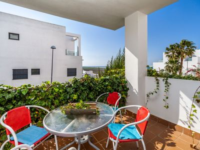 Photo for Holiday apartment with balcony and pool - Casa Frank
